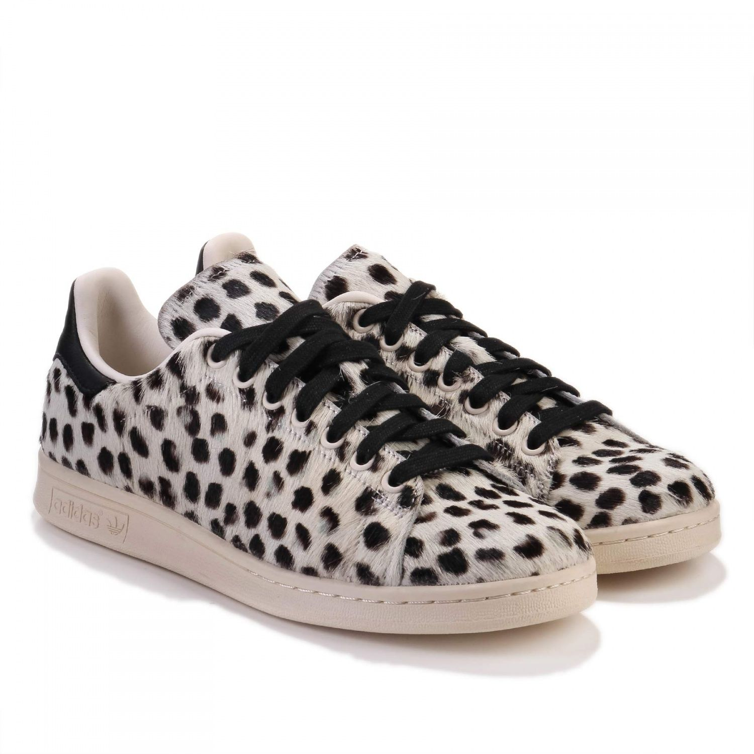 Adidas Stan Smith X Kazuki Kuraishi pony hair white/black
