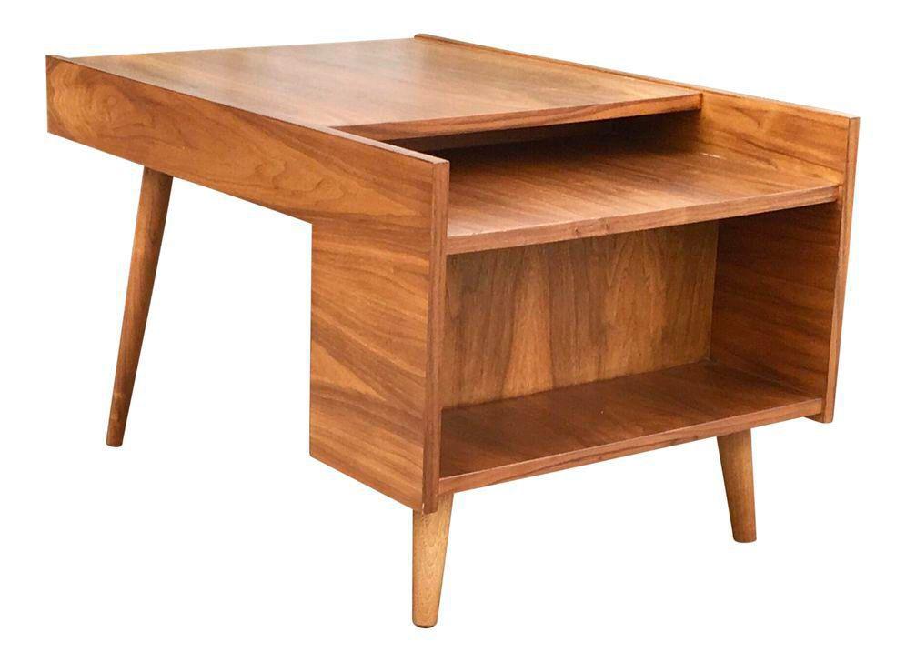 Milo Baughman Vintage Side Table on Chairish.com