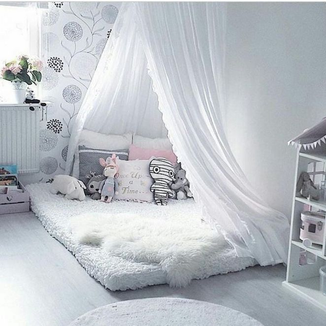04 Diy canopy bed with Sheer lights Fabrics 136 canopy