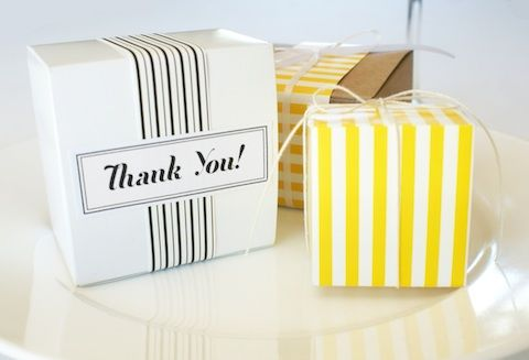FREE Wedding Favor Box Templates and much more