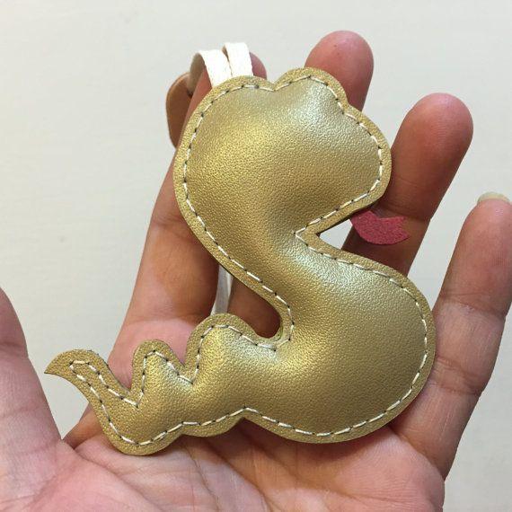Tamaño pequeño  Joey el serpiente cuero cuero encanto oro