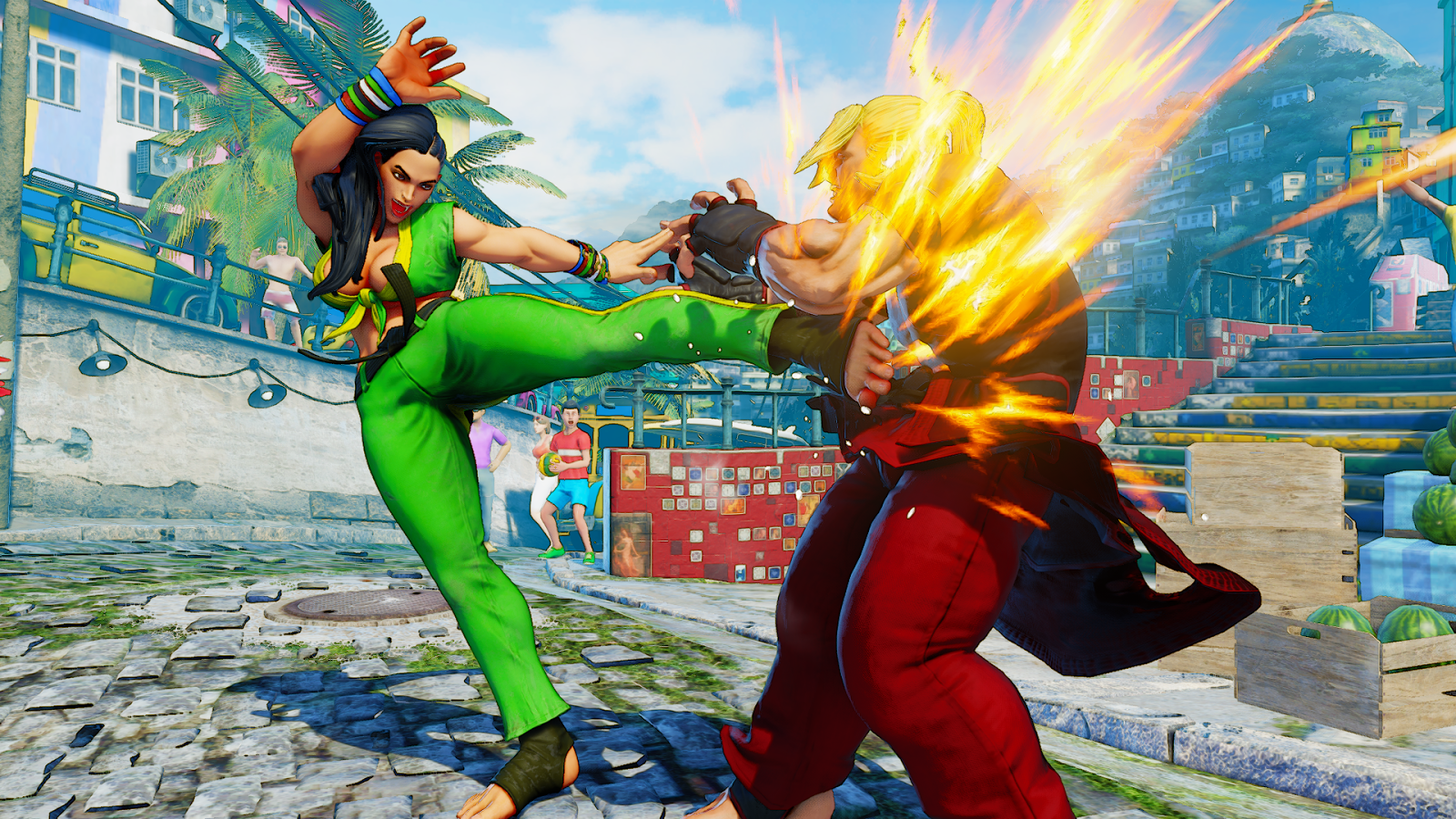 All New Character For Street Fighter V Announced At Brasil Game