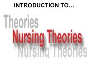 NURSING THEORIES ppt | Nursing Presentations | Nursing