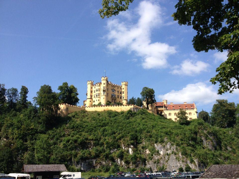 Schloss Hohenschwangau House Styles Mansions Photo