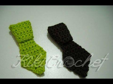 Crochet Mini Tie Crochê 2 Pinterest Muster