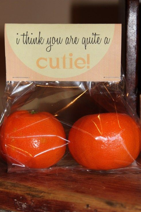 Adorable And Healthy Love Kids Love Cuties Great Valentine Classroom Gift Treat Bag Idea