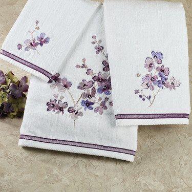 Pergola Floral Bath Towels From Croscill Floral Bath Towels