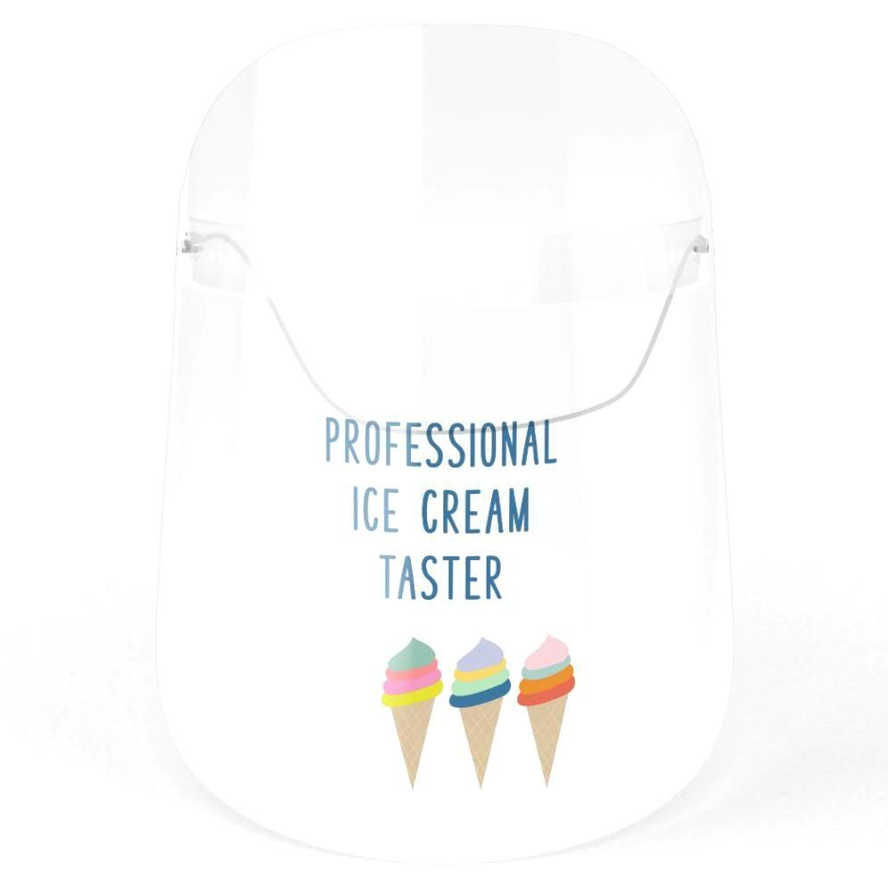 Funny Ice Cream Lovers Humor Quote Face Shield In 2020 Funny Quotes Humor Face Shield