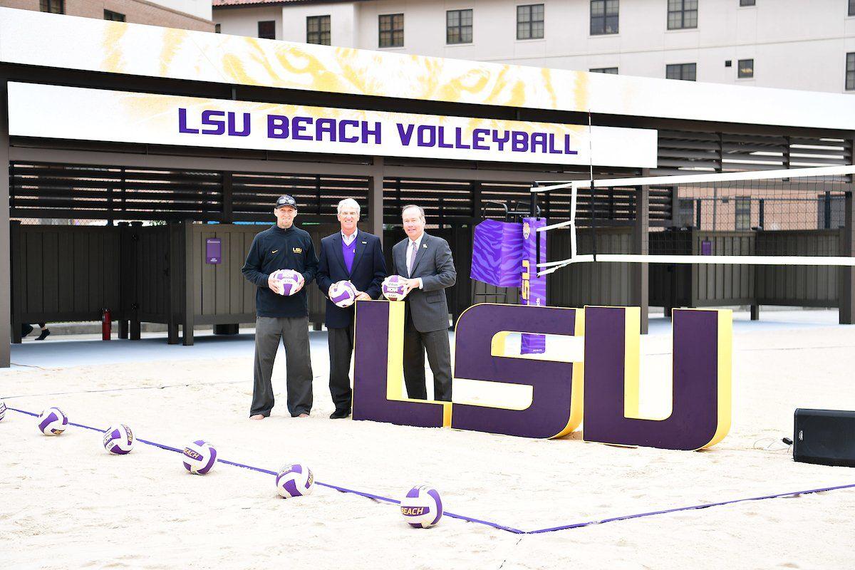 Pin By Dave Broberg On Sports Facility Inspiration Lsu Beach Sports