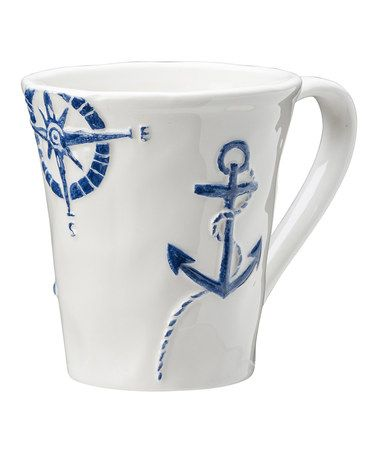 3663df8fe Look what I found on  zulily! Cape Cod Coffee Mug - Set of Four ...