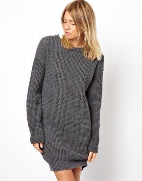 Bild 1 von ASOS – Pulloverkleid