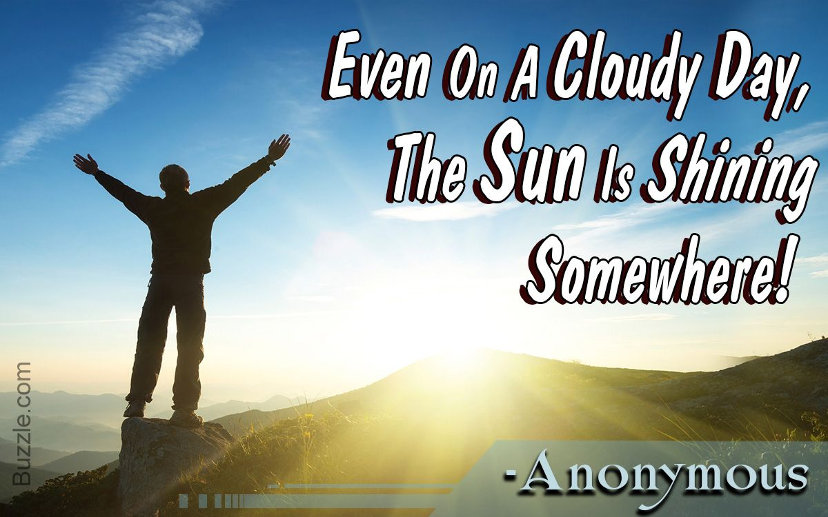 Anonymous Quote About Sunshine Quotable Quotes Quotes Sunshine