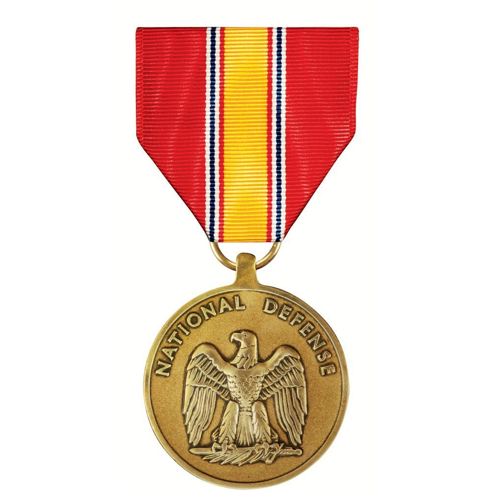 National Defense Service Medal Full Size Regulation Army