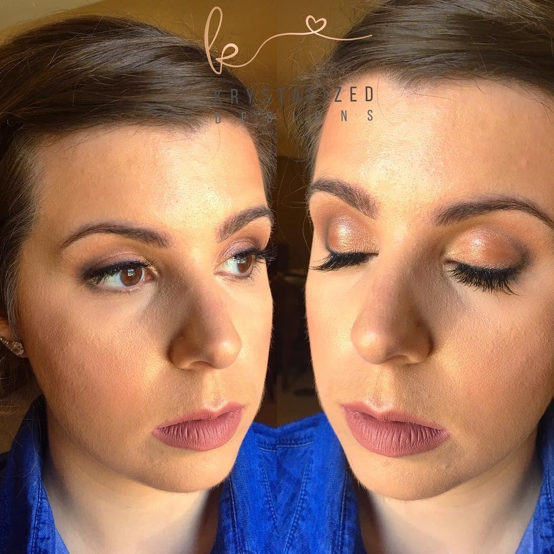 Bridesmaid makeup done in Mystic #krystalizeddesigns #makeup #mua #ctmua #lashes #bridesmaids #bridal #bridalmakeup #ctbride #ctbridesmaid #bridalmakeupartist http://gelinshop.com/ipost/1519250346692584827/?code=BUVdiQXgCV7
