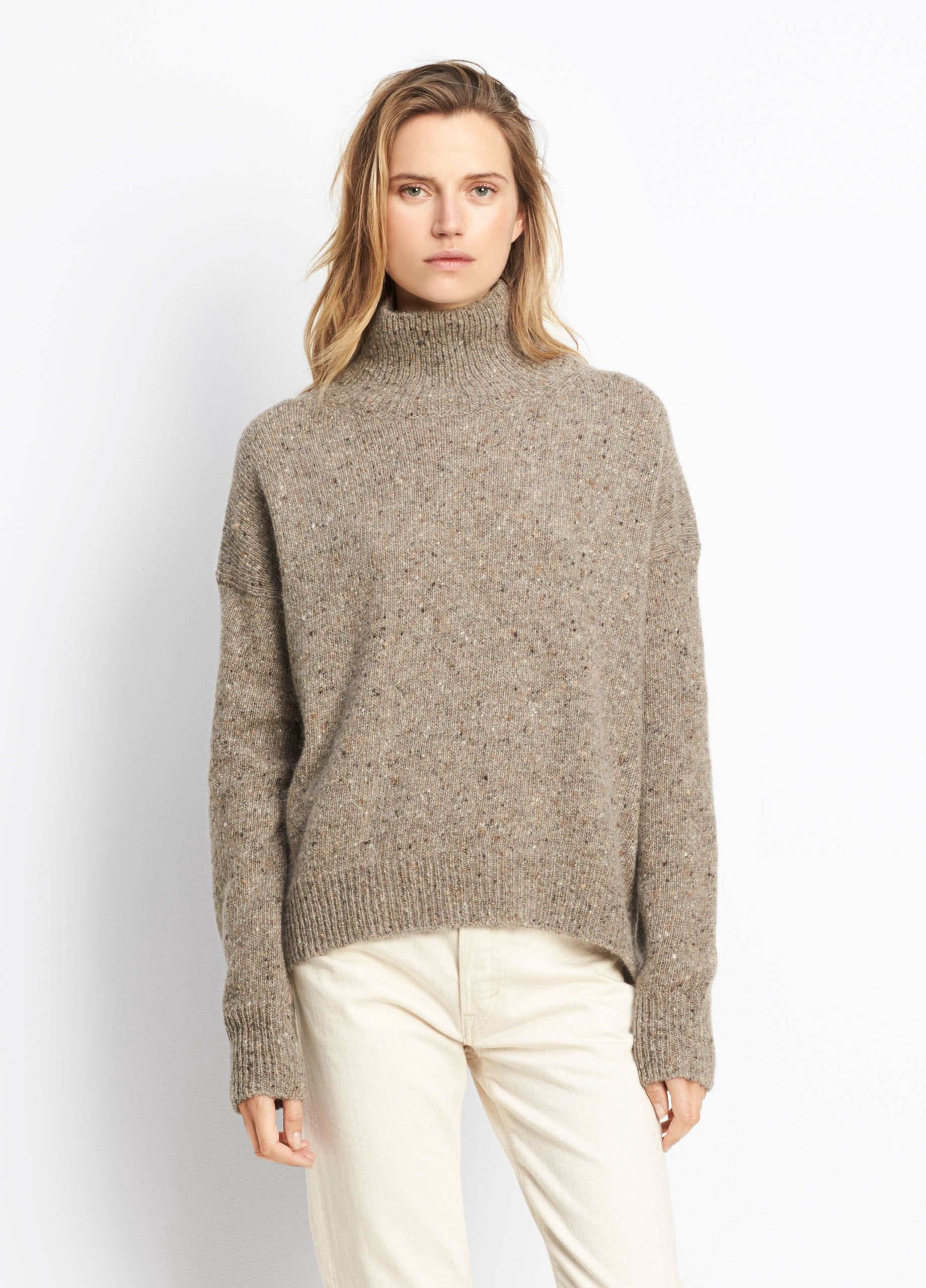 e336cd8ec VINCE Cashmere Turtleneck Pullover - Heather Ash.  vince  cloth ...
