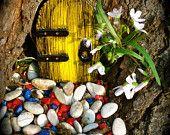 A fairy door for your enchanted garden ;)