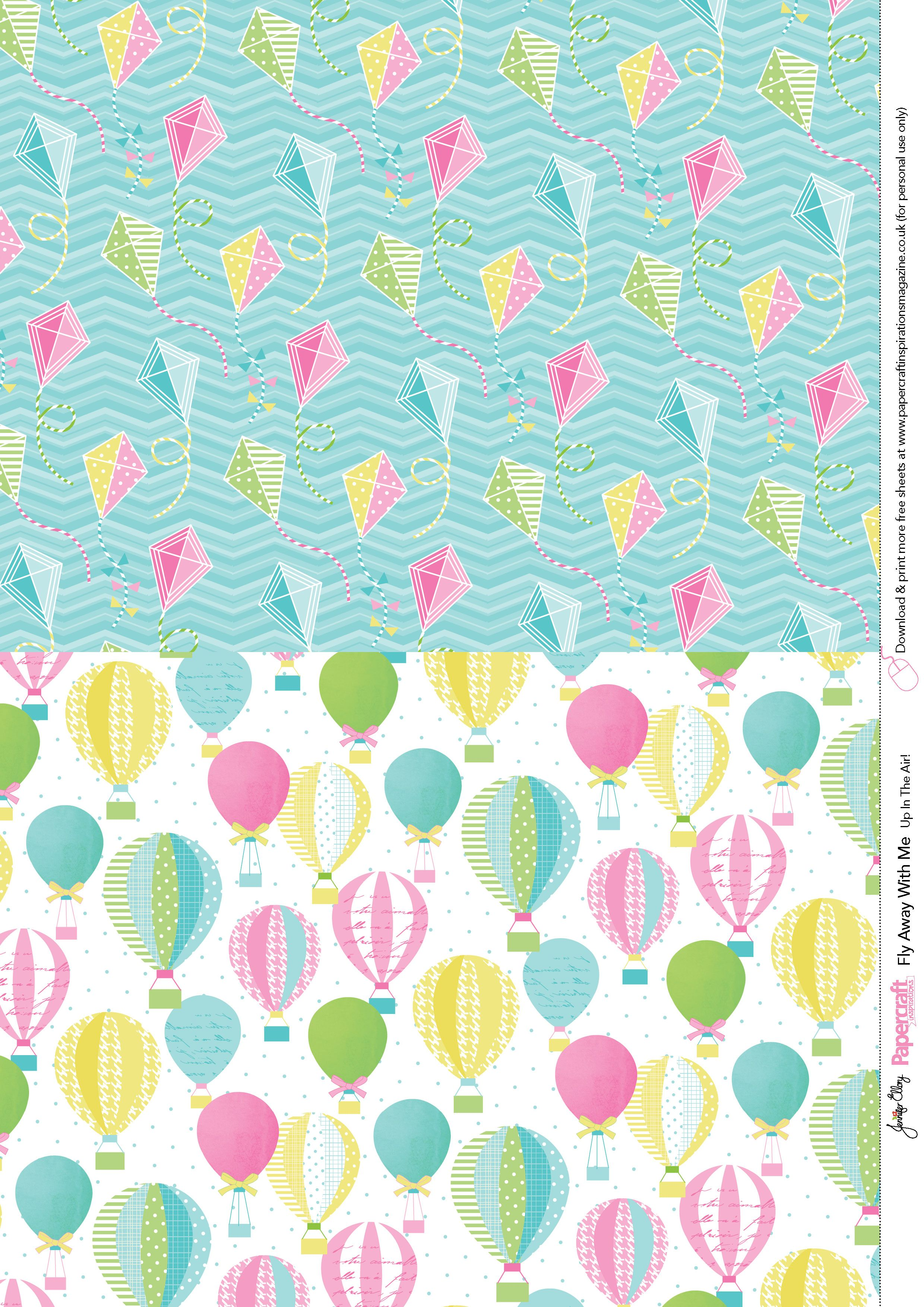 Fly Away With Me free printables from Papercraft inspirations 138