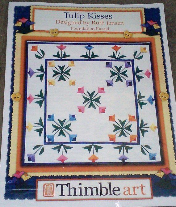 Tulip Kisses Pattern By Ruth Jensen Thimble Art Mywife