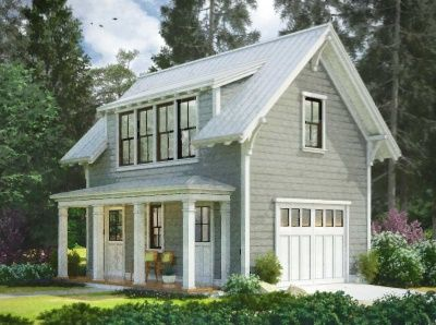 Small Farmhouse Plans Garage With Apartment Up Top Perfect