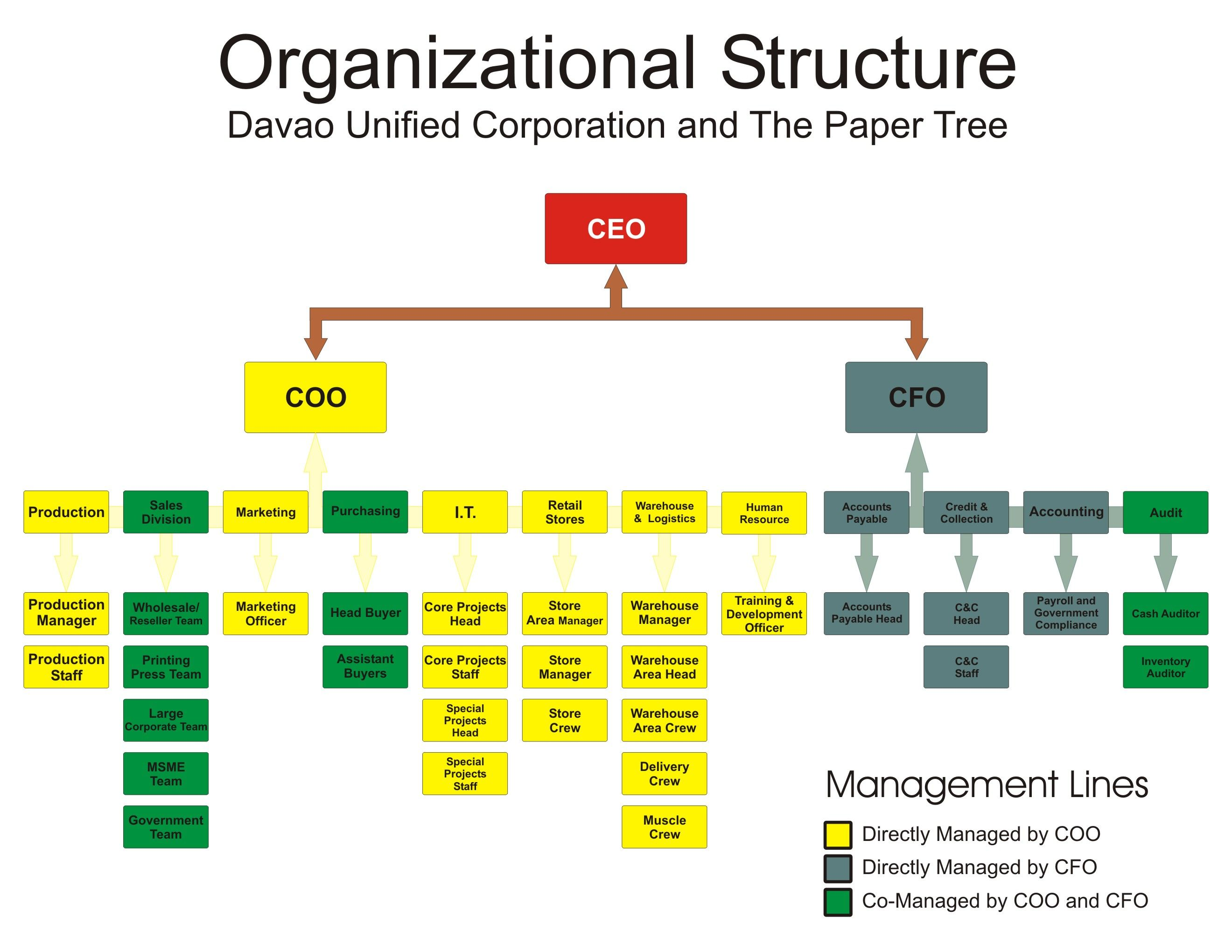 corporation organizational chart google search business systems