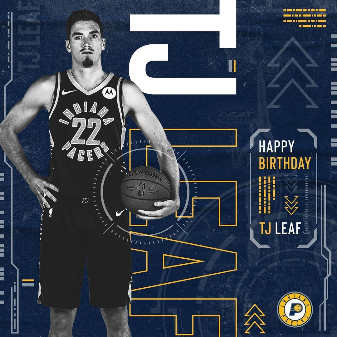 Indiana Pacers wishing a happy birthday to leafsquad