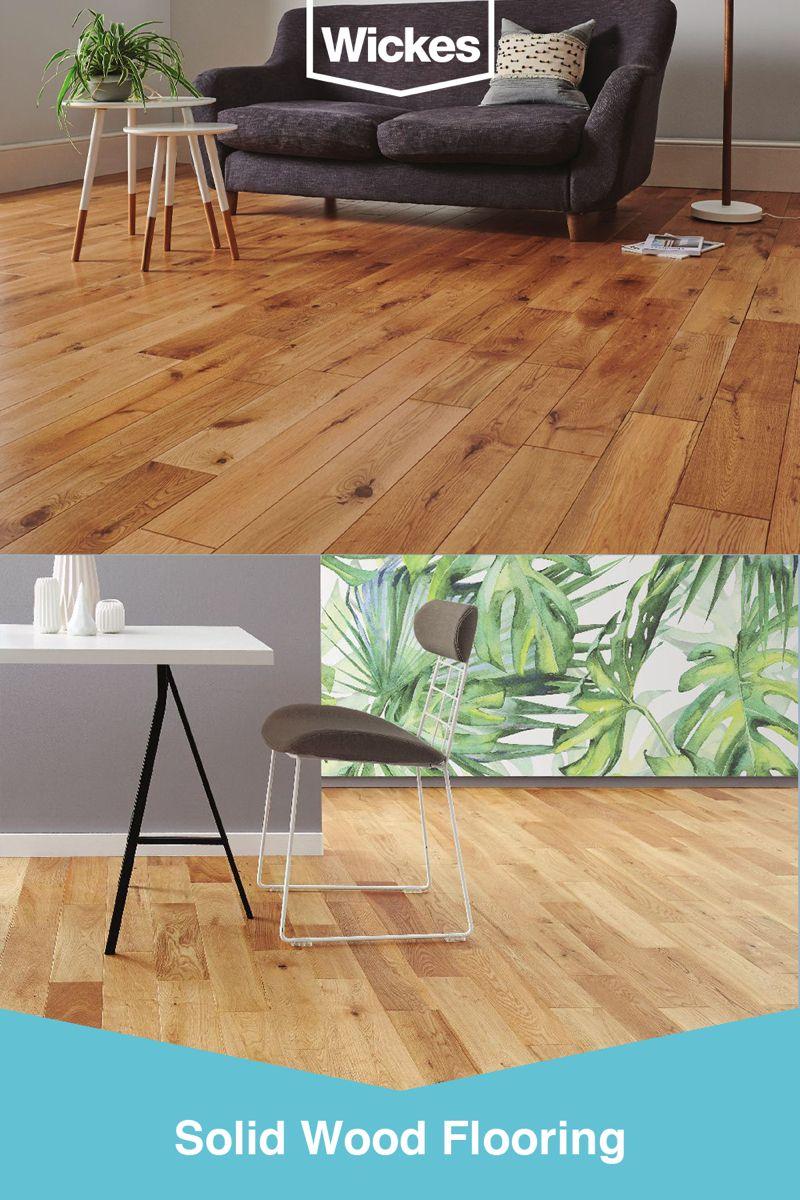 Solid Wood Flooring in 2020 Oak hardwood flooring, Solid