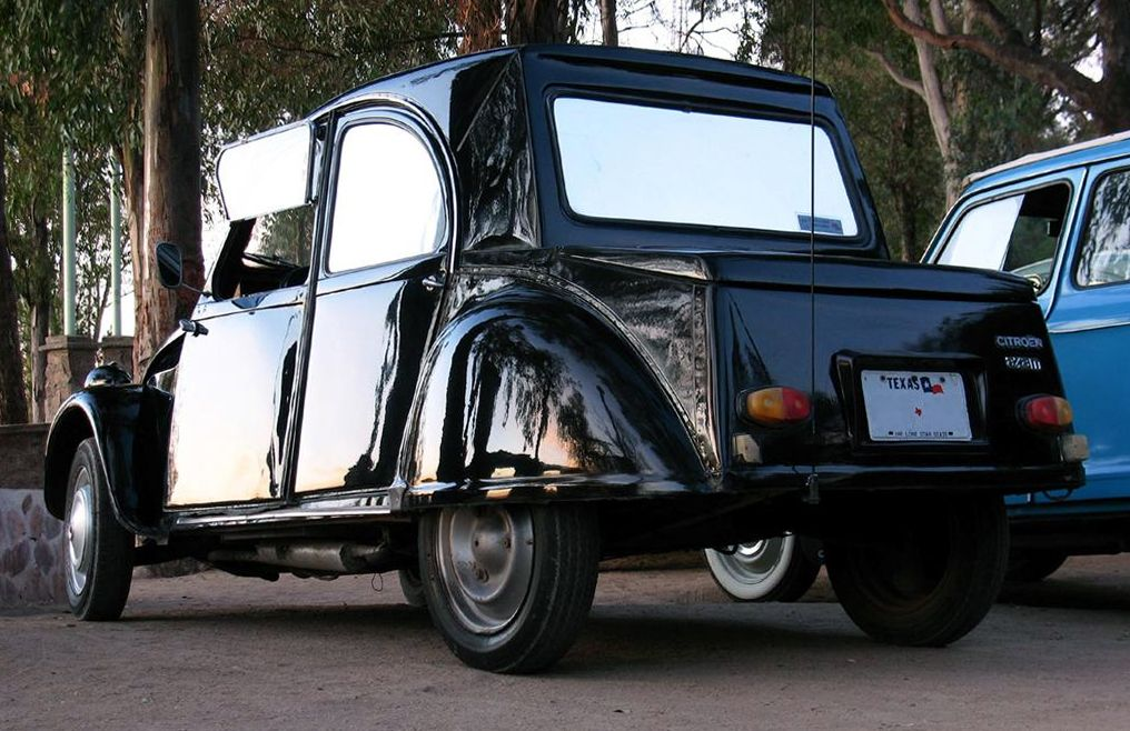 Citroën 2CV Type AZAM 1966 built in Chile (usually called