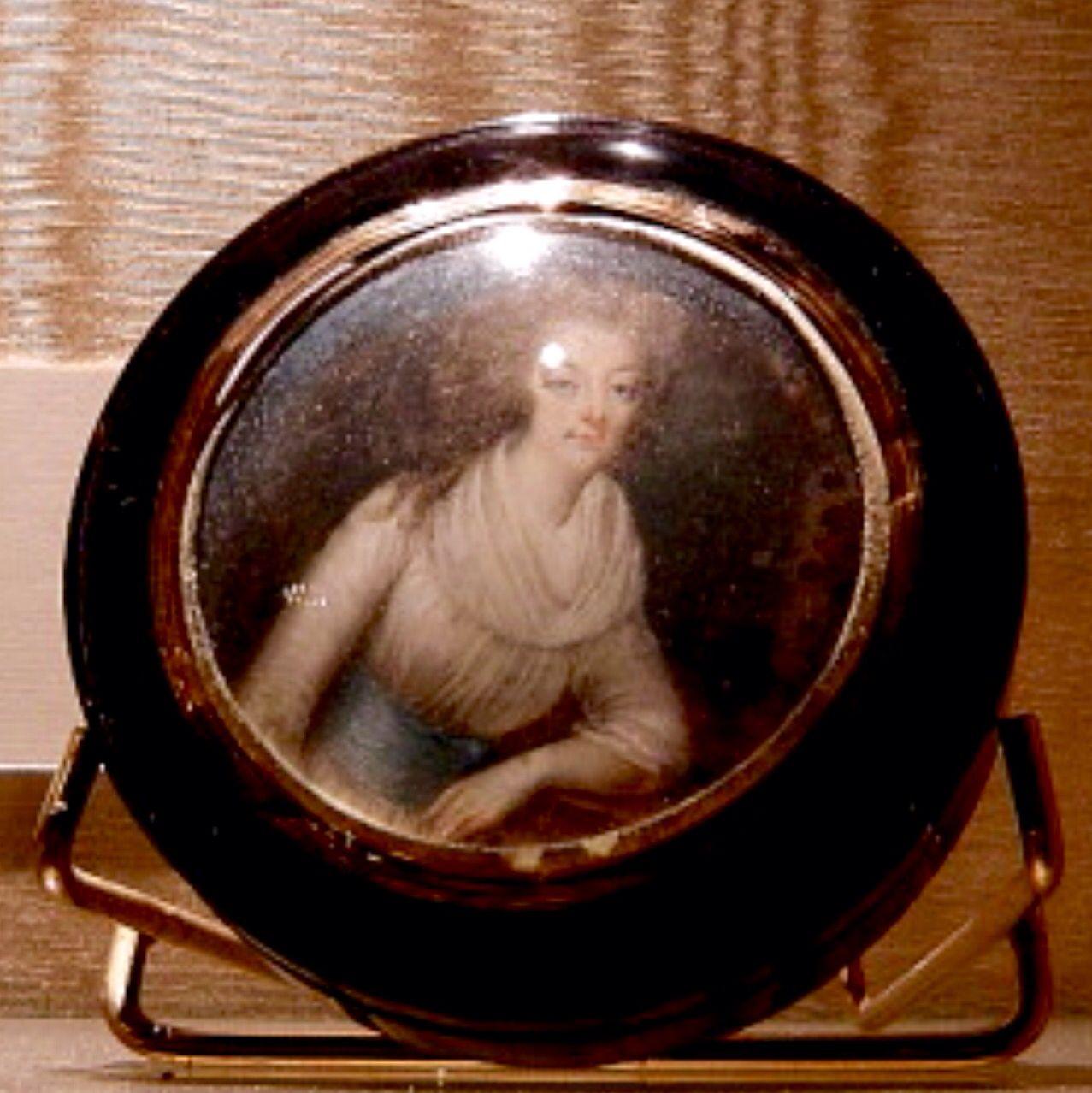 Miniatura de Maria Antonieta