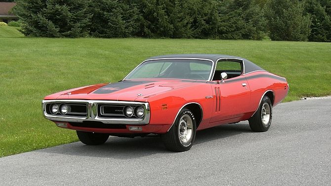 1971 Dodge Hemi Charger R T 426 Ci Super Track Pack Presented As