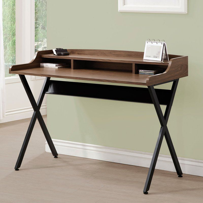 Coaster Furniture Writing Desk With X Shaped Legs 800415