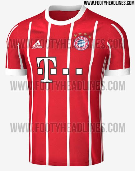 d8c7adf1732 Exclusive  Bayern Munich 17-18 Home Kit Leaked - Footy Headlines ...