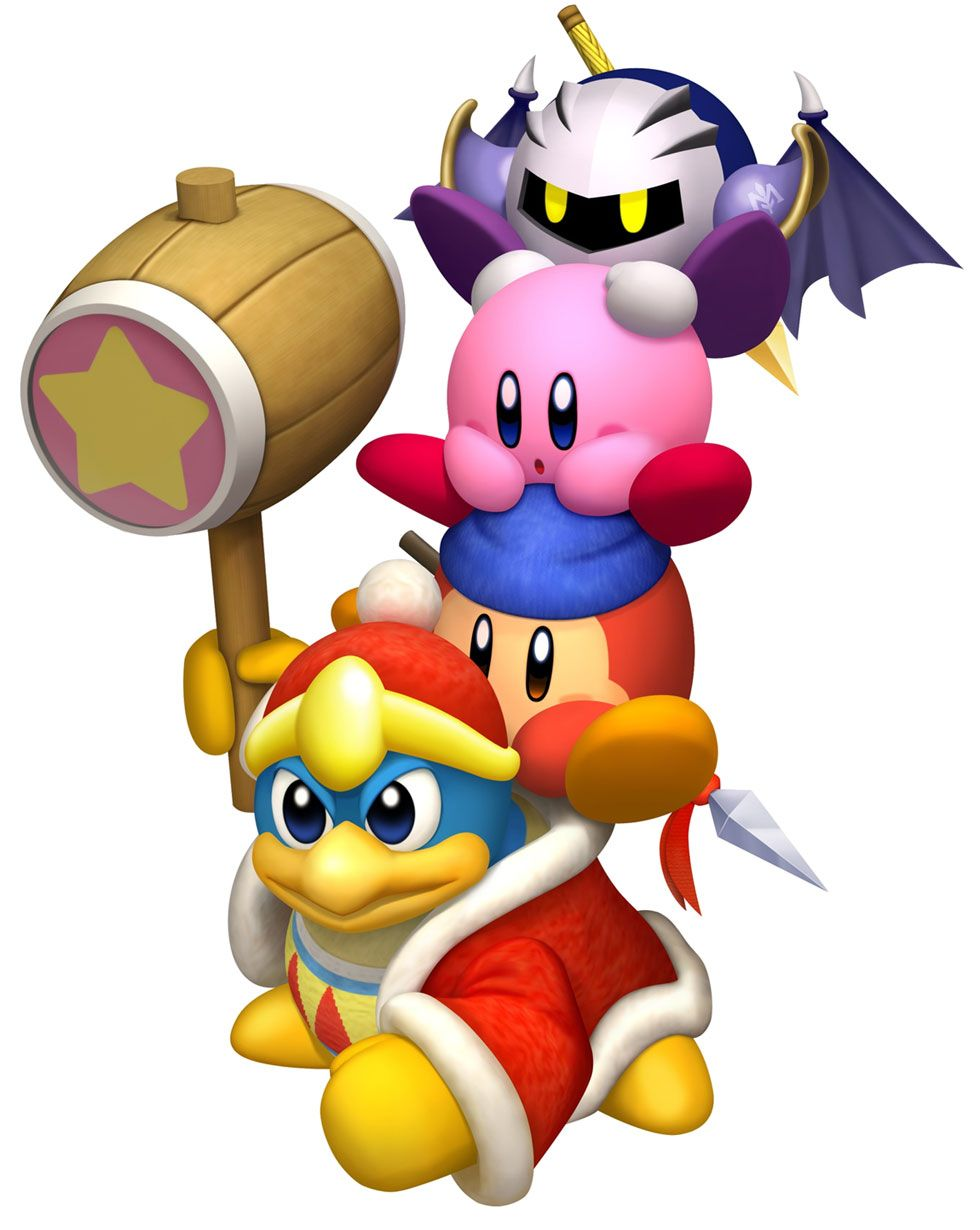 Meta Knight, Kirby, Waddle Dee, and King Dedede | Dream Smash Roster ...