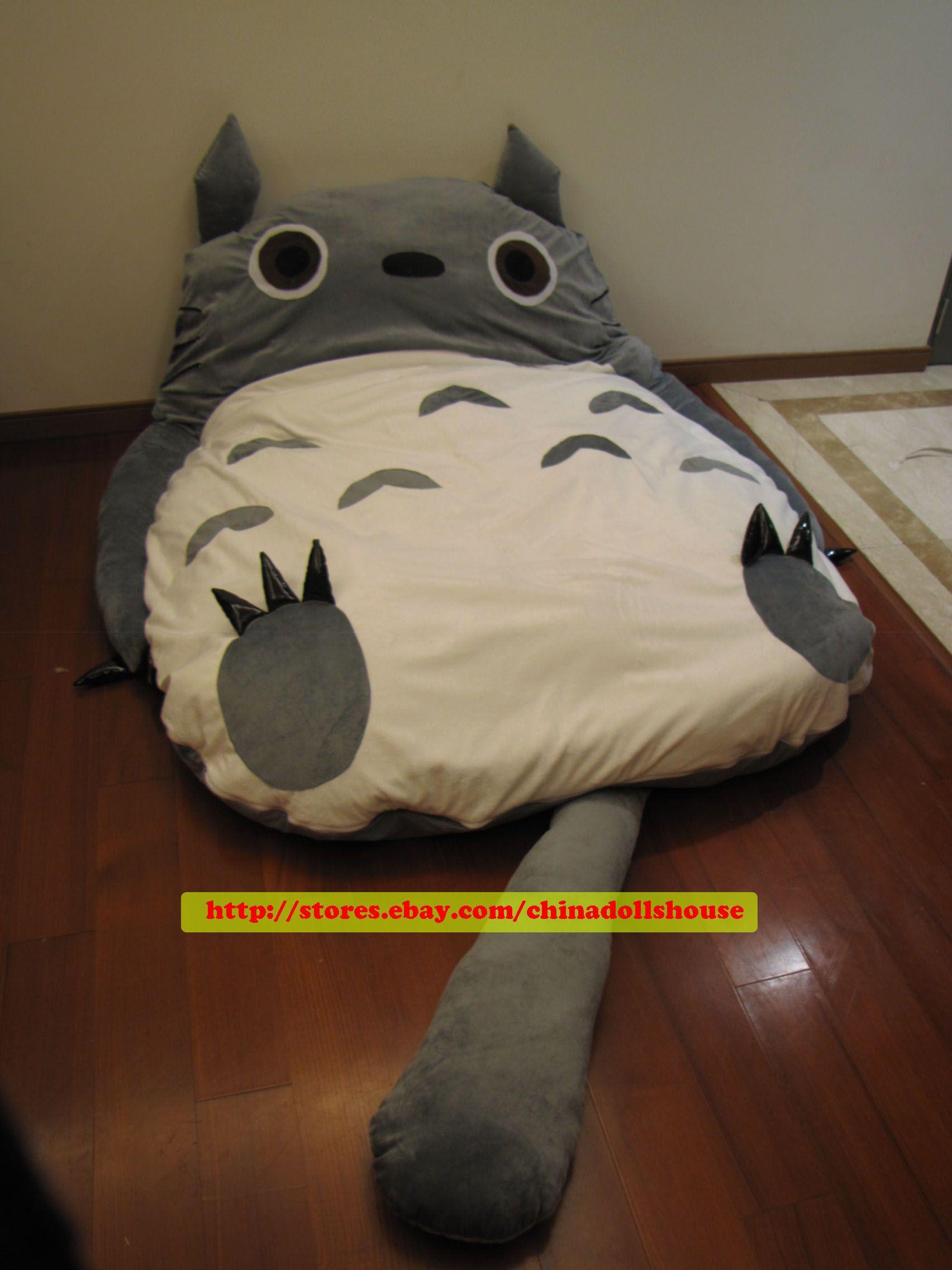 Big Huge Cute 2011 Models 220cm Totoro Bed Sleeping Bag Sofa Valentine's Day Gif | eBay