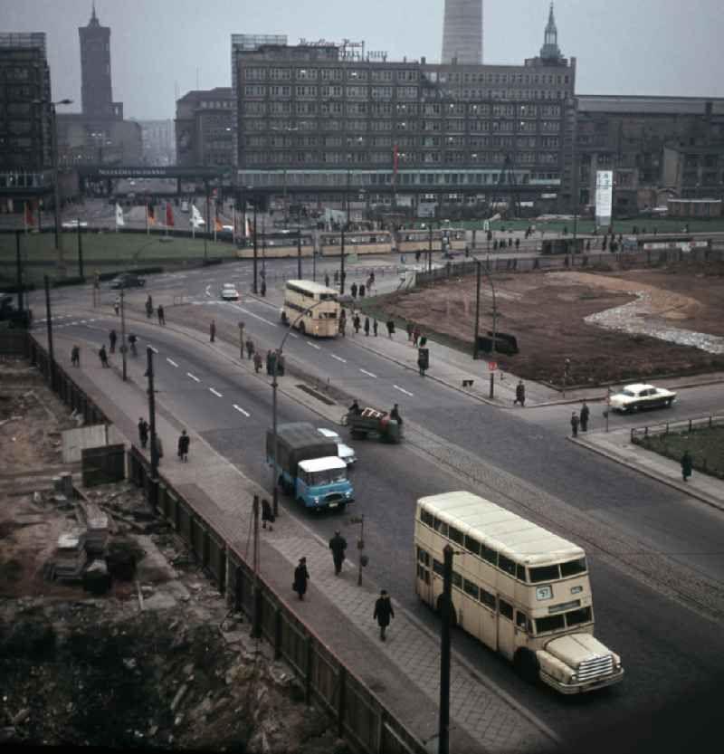 Ddr Baustelle Alexanderplatz 1967 Berlin Berlin Stadt Ddr
