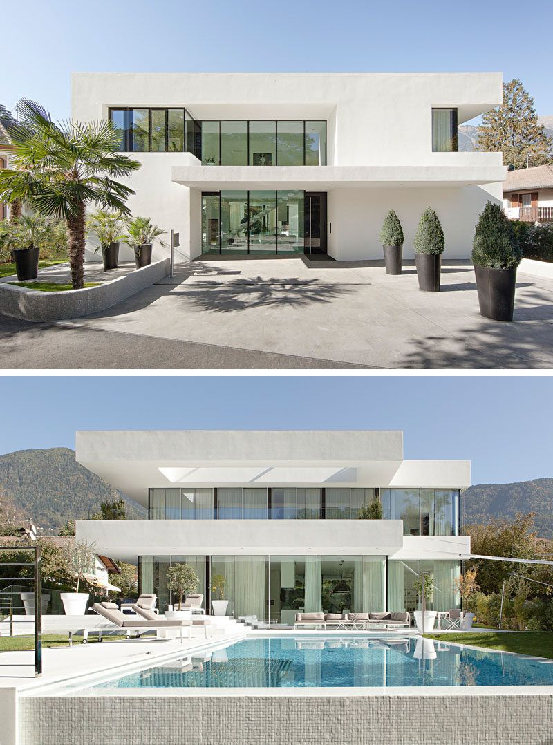 Enchanting White Modern House Images - Best idea home design .