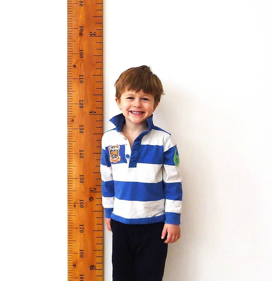 Wooden Growth Chart, Growth