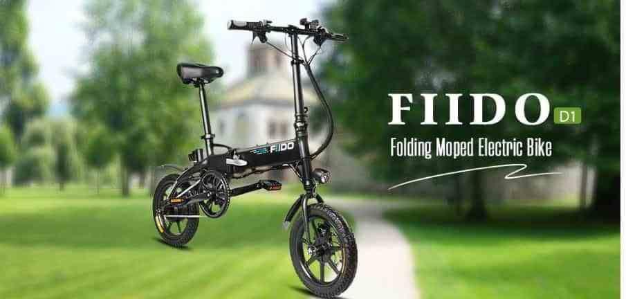 13 Coupon Flash Sale Fiido D1 Folding Electric Bike Moped