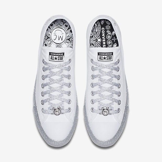 9895fedf3d1e Converse X Miley Cyrus Chuck Taylor All Star Low Top - M 10.5   W 12.5