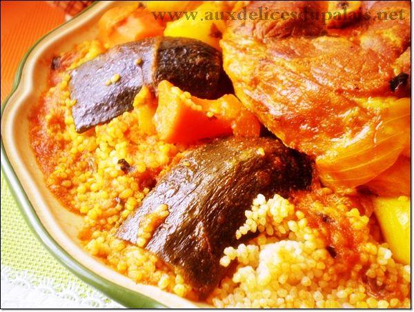 Recettes de couscous tunisien au poisson - Recette cuisine couscous tunisien ...