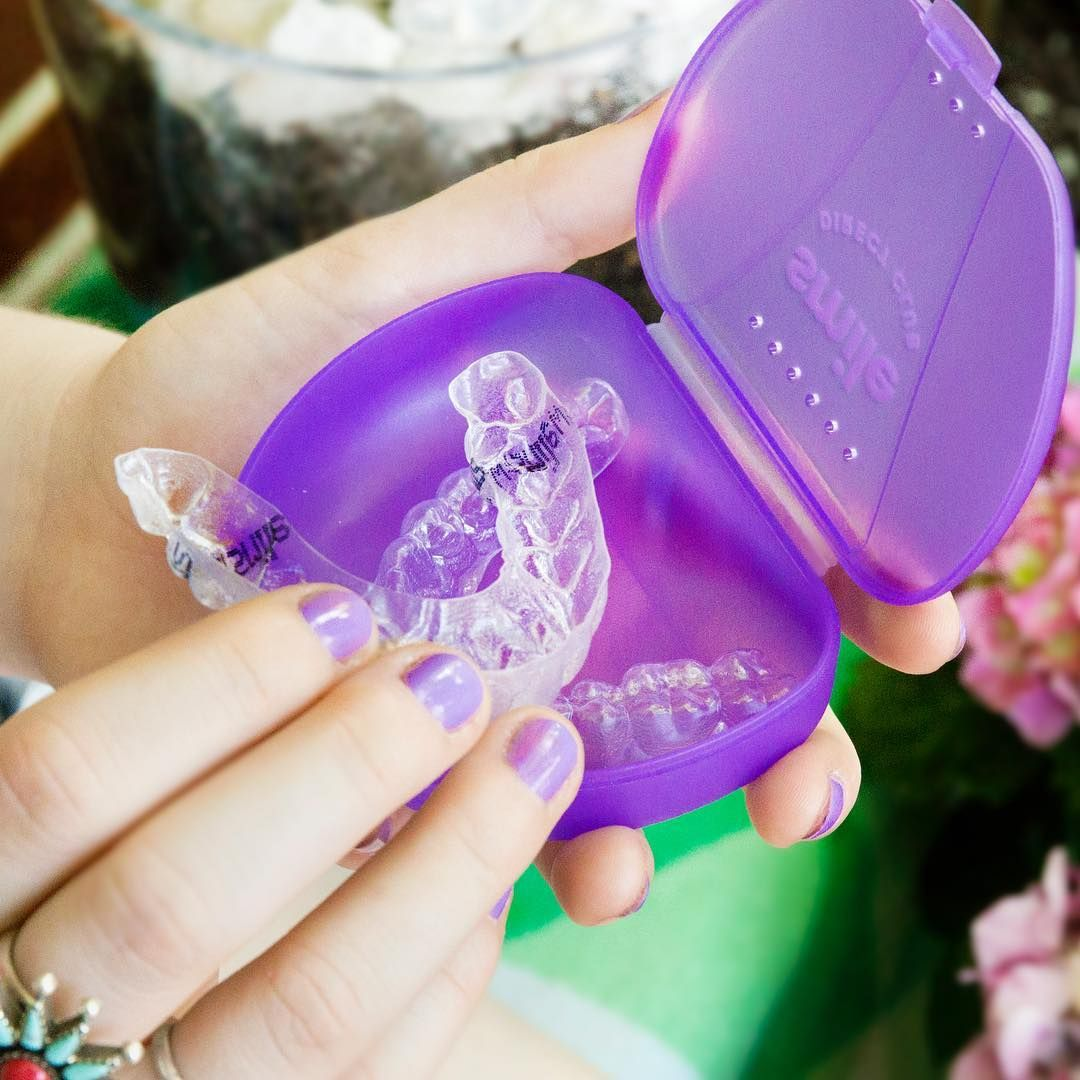 Our Clear Aligners Straighten Teeth At Home