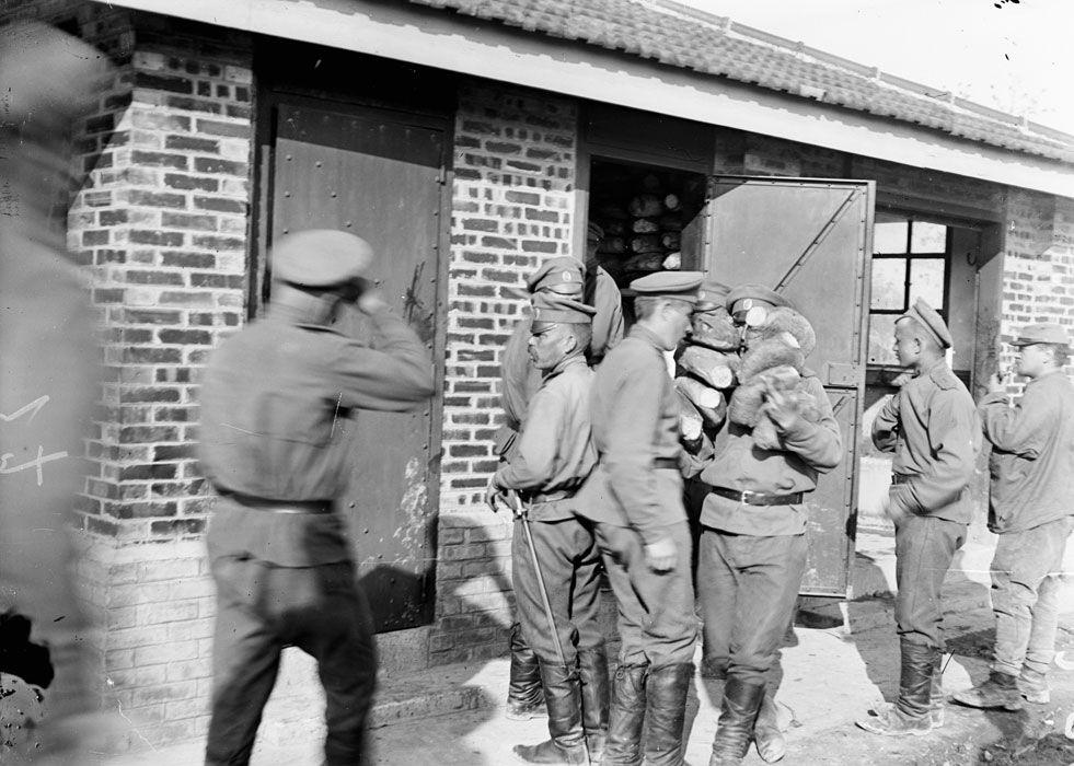 corps expéditionnaire russe- front de Champagne avril- mai 1916 - Mailly le camp