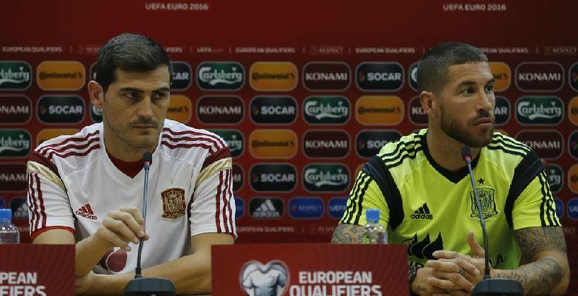 """""""De la fiesta no preguntáis nada, ¿no?"""". @SergioRamos, al término de la rueda de prensa http://ow.ly/RTzlM"""