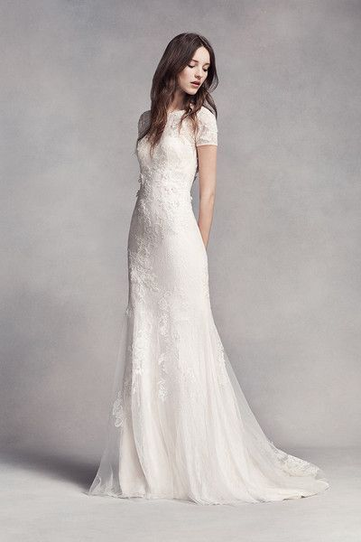 White by Vera Wang Gowns   Lace wedding dresses   Pinterest   Vera ...
