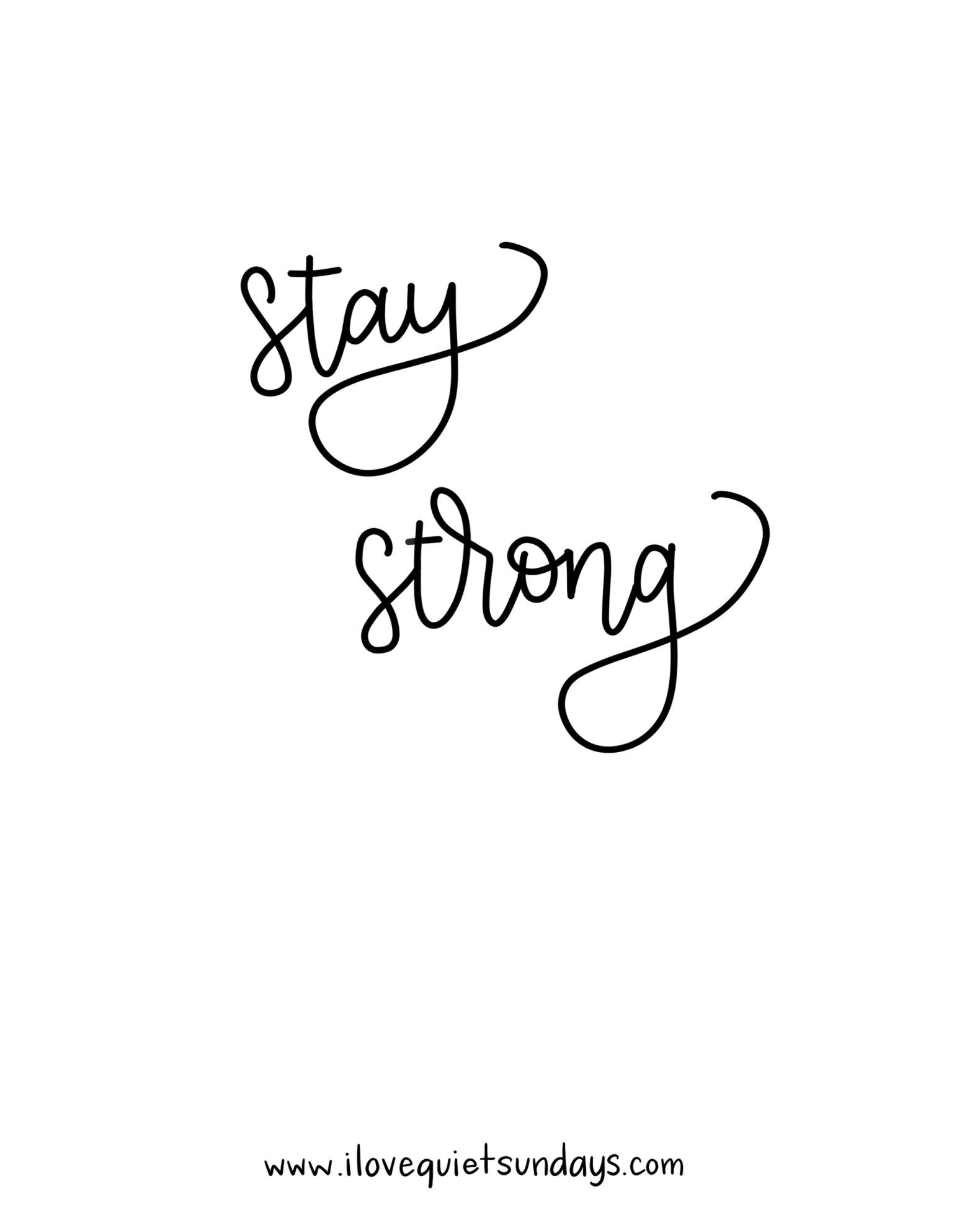 Stay strong, girl. #inspiration | Quotes galore | Quotes, Two word