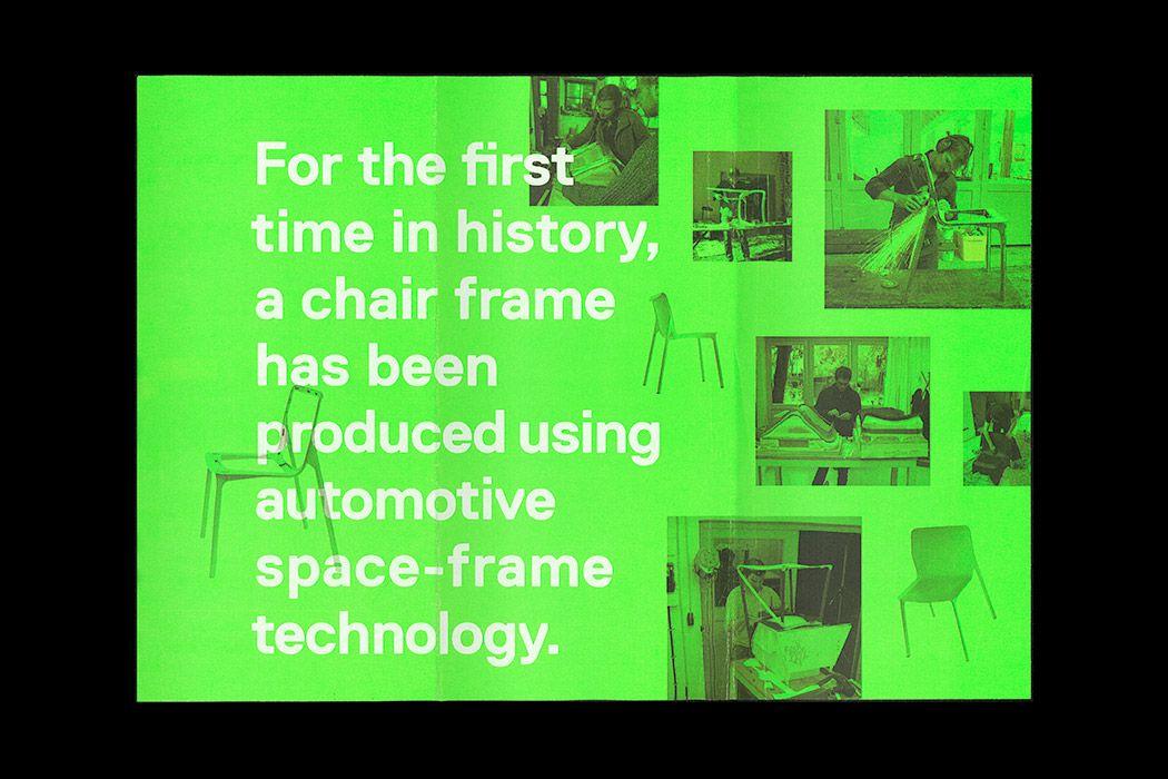 classy chair logo design. Classy tri fold about a chair  Graphic Design Pinterest Tri