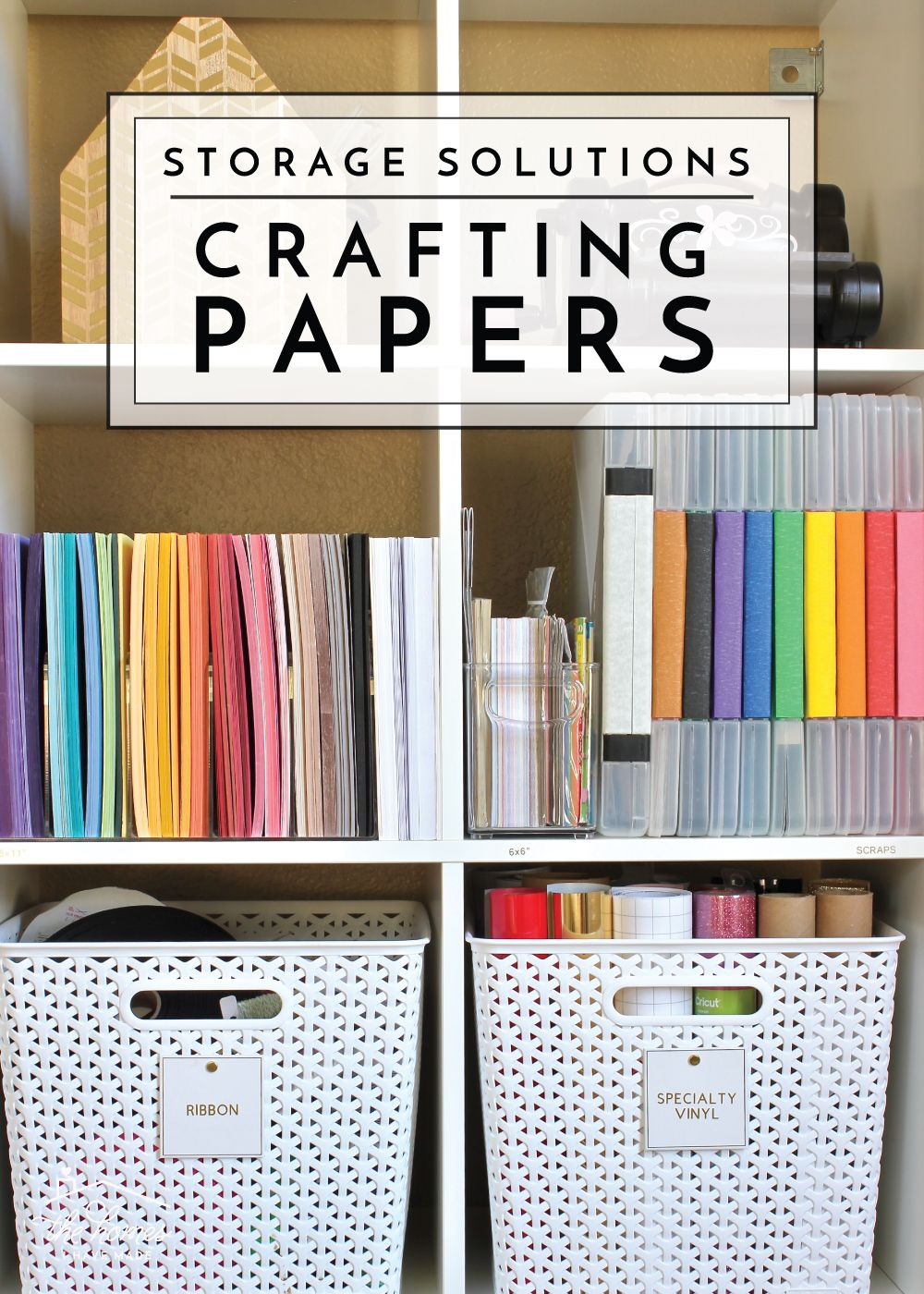 How To Organize Paperwork Part 4 Crafting Papers The Homes I