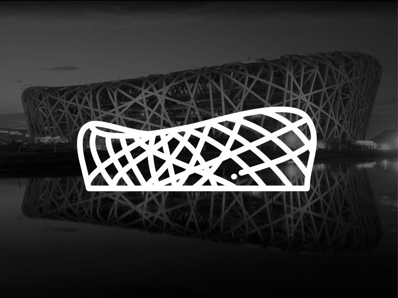 Dribbble - Beijing !! National Stadium Bird's Nest !! by Aleksandar Savić