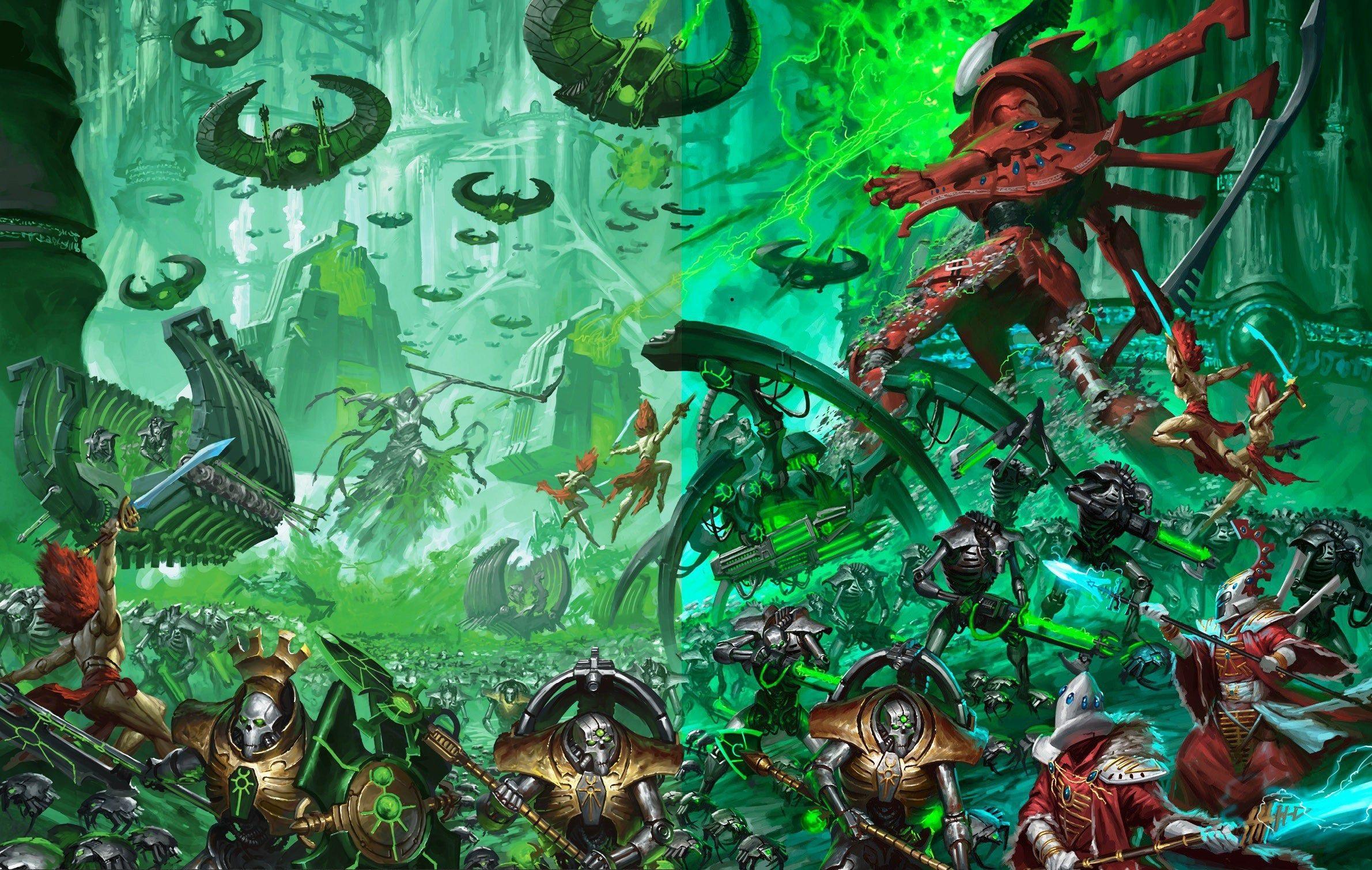 The Magic Of The Internet Warhammer 40k Necrons Necron Warhammer 40k Artwork