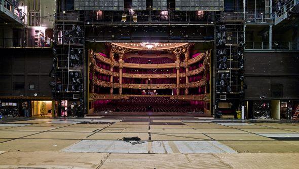 El Palacio Garnier desde el escenario. José Ballester