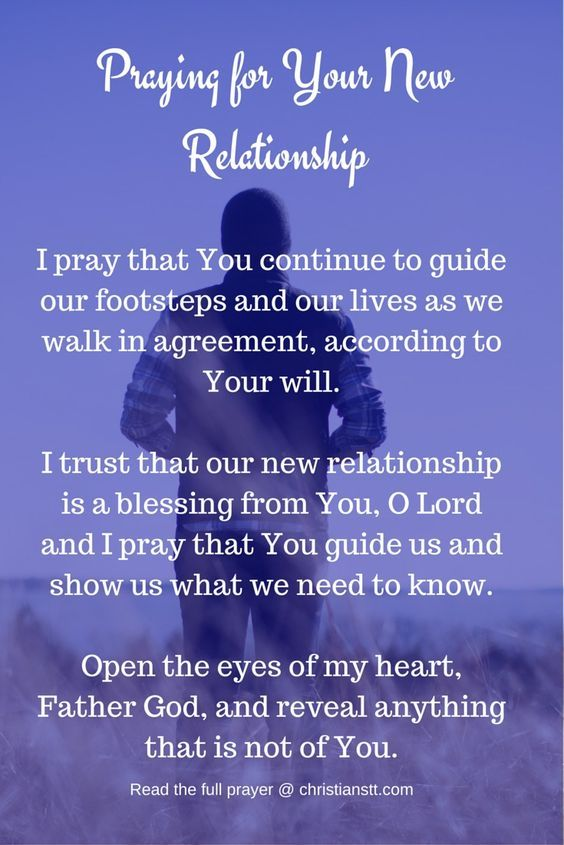 Prayer For Your New Relationship (or Current) - ChristiansTT